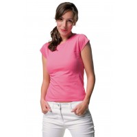 ID407 LADIES FITTED CREW NECK T-SHIRT