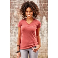 ID66  LADIES V-NECK HD T