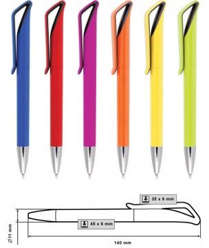 ID9147D Пластмасови химикалки