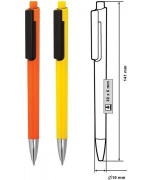 ID9166D Пластмасови химикалки