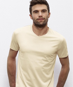 ID202 ORGANIC V-NECK t-shirt
