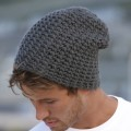 ID862  CASUAL OUTSIZED CROCHETED CAP