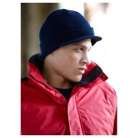 ID962 KNITTED CAP WITH PEAK