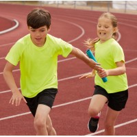 ID867 Детски спортни, къси панталони Performance