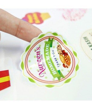 PVC stickers GLOSS
